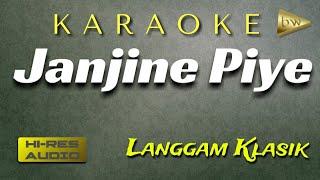 Download Mp3 Janjine Piye Karaoke Langgam Klasik Ki Nartosabdho Set Gamelan Korg Pa600+lirik