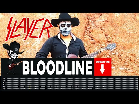 Slayer - Bloodline (Guitar Cover by Masuka W/Tab)