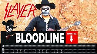 Slayer - Bloodline (Guitar Cover by Masuka W/Tab)