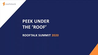 A Peek Under Our 'roof' With Roofstock