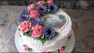 Торт для девушки на день рождения