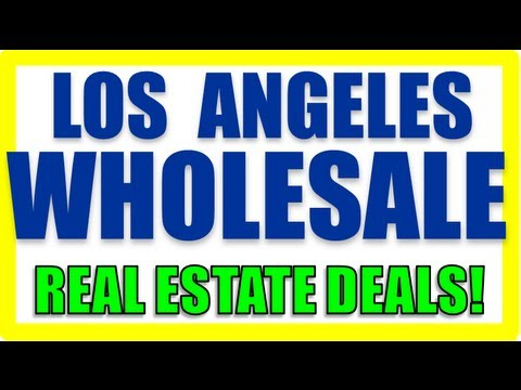 Los Angeles Wholesale Deal - Sample Deal (Get On Our VIP List)