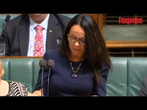 L'émouvant discours de la première députée Aborigène d'Australie