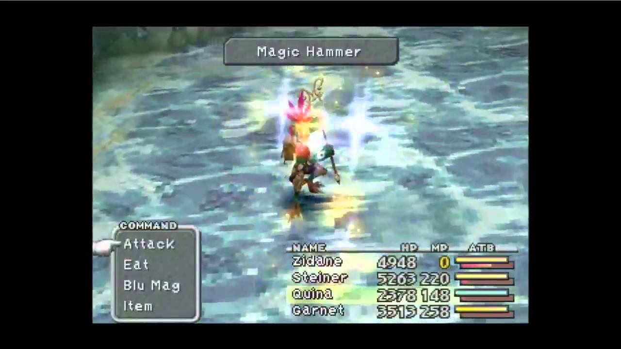 Final Fantasy Ix Disc 4 Blue Magic Hunt Magic Hammer Youtube