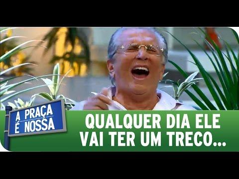 A Praça É Nossa (28/01/16) - Carlos Alberto passa mal de tanto rir