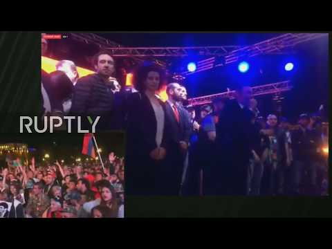 LIVE Protests ensue as Armenian parliament vote on new PM