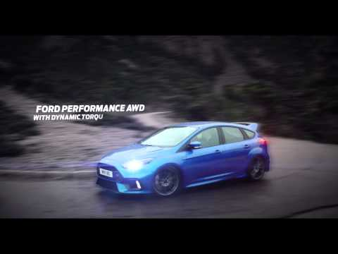 All-new Ford Focus RS on the road