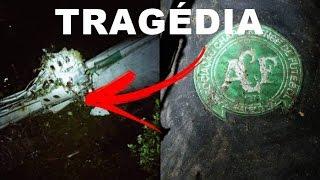 Imagens inéditas da Queda do Avião da Chapecoense - Novo