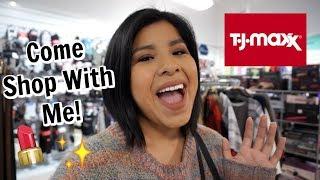 Come Shop With Me at TJMAXX!   High End Makeup Deals