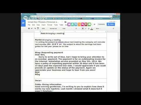 Email Writing Practice (Personal and Business)
