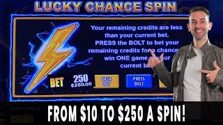 💸 $250 SPINS?! 😵 Has Brian Lost His Mind❓❓❓ 5 Chances to WIN BIG