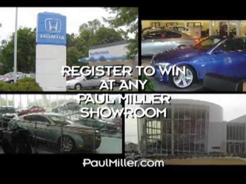 Paul Miller Honda - Win An Insight