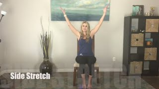 Self Quarantine Yoga: A Relaxing 30 Minute Chair Yoga for Everyone