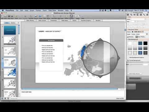 How to make a zoom effect on a map in powerpoint youtube how to make a zoom effect on a map in powerpoint toneelgroepblik Choice Image