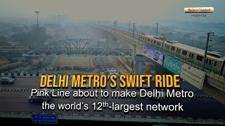 Some facts about Delhi Metro, world's 12th-largest metro network