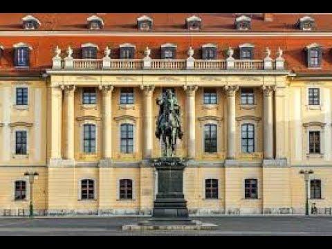 Дом офицеров в Веймаре и дорога на жд вокзал. По следам истории ГСВГ.