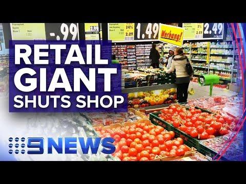 Supermarket Giant Pulls The Plug On Australia | Nine News Australia