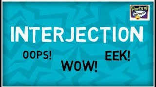 What is Interjection? | Examples : WOW!, OOPS!...