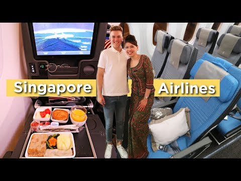 OMG... THE WORLD'S BEST ECONOMY CLASS | Singapore Airlines 7