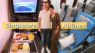 OMG... THE WORLD'S BEST ECONOMY CLASS | Singapore Airlines 787-10 and A350 Review