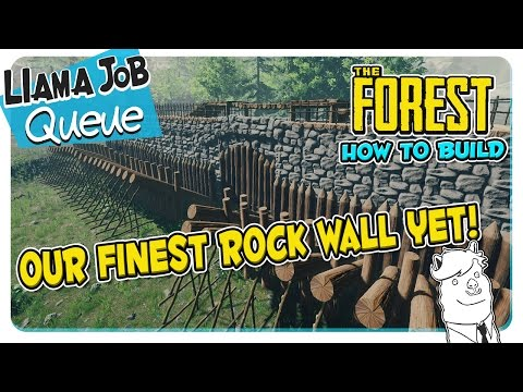 The Forest   How To Build The Best Defensive Wall  