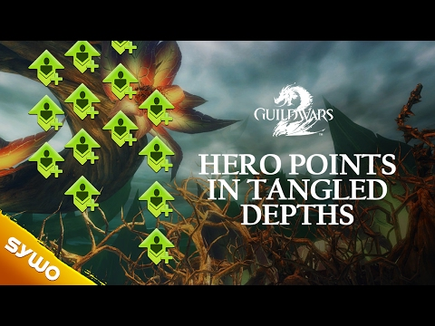 Guild Wars 2 - Hero Point Guide / 90 Easy HP In Tangled Depths