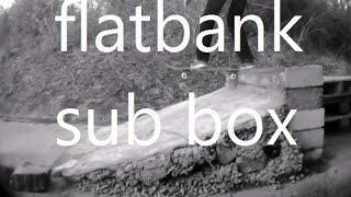 Krooks Diy Skatespot | First Skate Flatbank Sub Box
