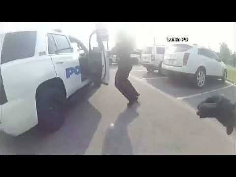 Girl escapes from hand cuffs then steals police car