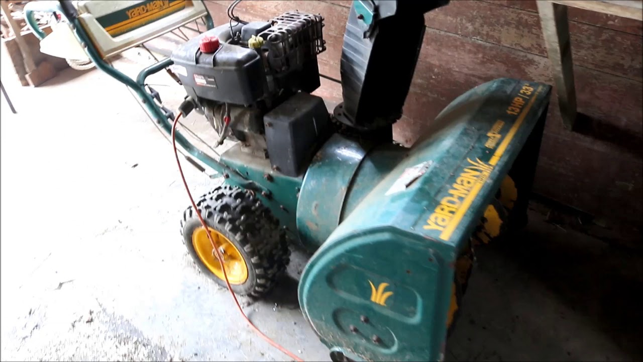 MTD Yard-Man Snow Blower For Sale at Auction
