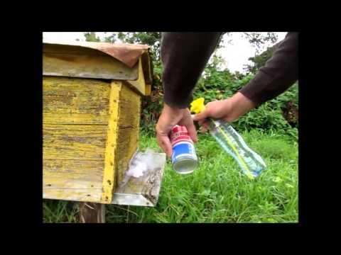 Дымовая пушка для обработки пчел своими руками видео 12