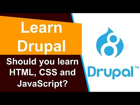 Drupal - Should you learn HTML, CSS and JavaScript thumbnail