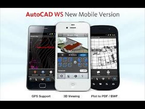 Auto Cad 360 For Android Create Design Model