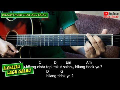 Al Ghazali - Lagu Galau (TUTORIAL CHORD MUDAH)