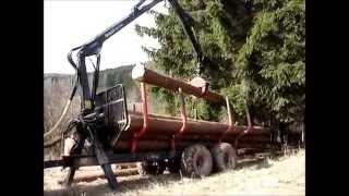 Přibližování a Odvoz dřeva 2014 (Belarus 1025.4)