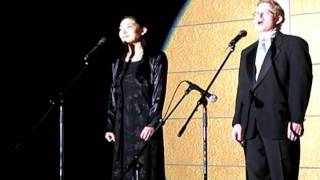 "Dan & Kiko Murray sing ""O Holy Night"" live at the OWLS Christmas Pa..."