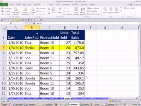 Slaying Excel Dragons Book #4: Table Format Structure For Raw Data & Data Analysis