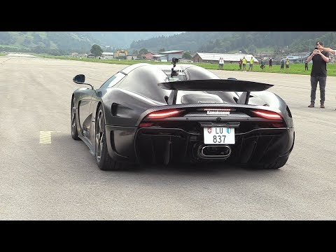 Koenigsegg Regera – Full Throttle Acceleration SOUNDS!