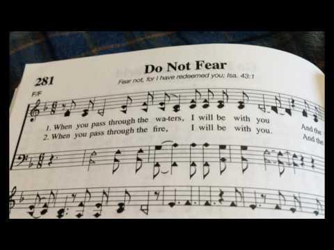 Do Not Fear, I Am the Lord ~ Acapella Gospel Hymn