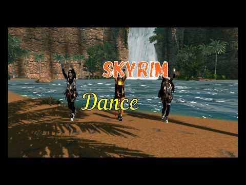 Skyrim Dance Music Video(luizor eim lux boom dara)