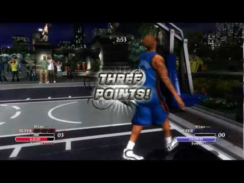 NBA Ballers Chosen One 1v1 R.Allen vs S.Marbury