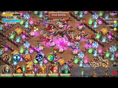 No Cooldown Heroes VS Dungeon 8-10