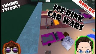 Roblox - Lumber Tycoon 2 - Making an Ice Rink for Car Wars