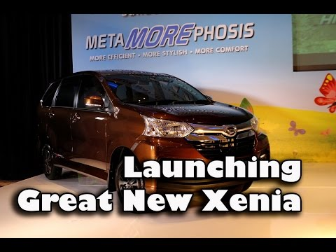 Launching Great New XENIA by PT Astra Daihatsu Motor (Indonesia)