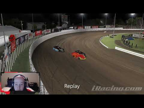 This was a wild ride! - dirt track racing video image