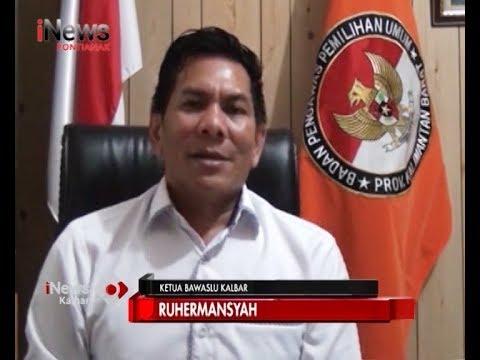Enam Dugaan Pelanggaran Diterima Bawaslu Kalbar - iNews Kalbar 20/03