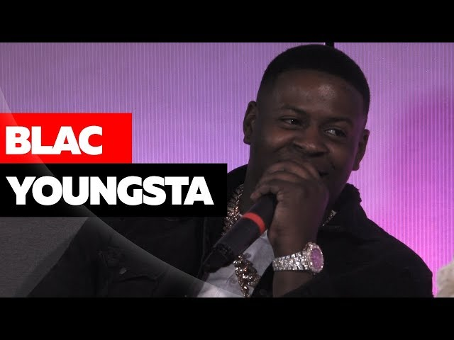 Blac Youngsta on Picking Up all the Money he Throws + Young Dolph
