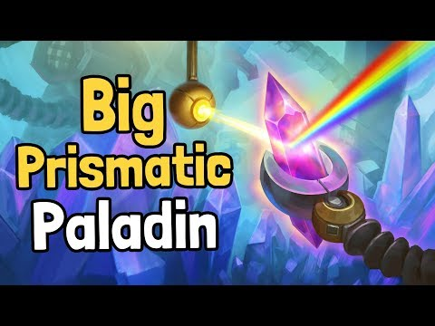Big Prismatic Paladin Decksperiment - Hearthstone