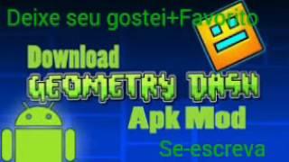 Geometry Dash 2.01 - APK - HACK- Todo Desbloqueado