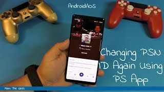 Changing PSN ID Again Using PS App