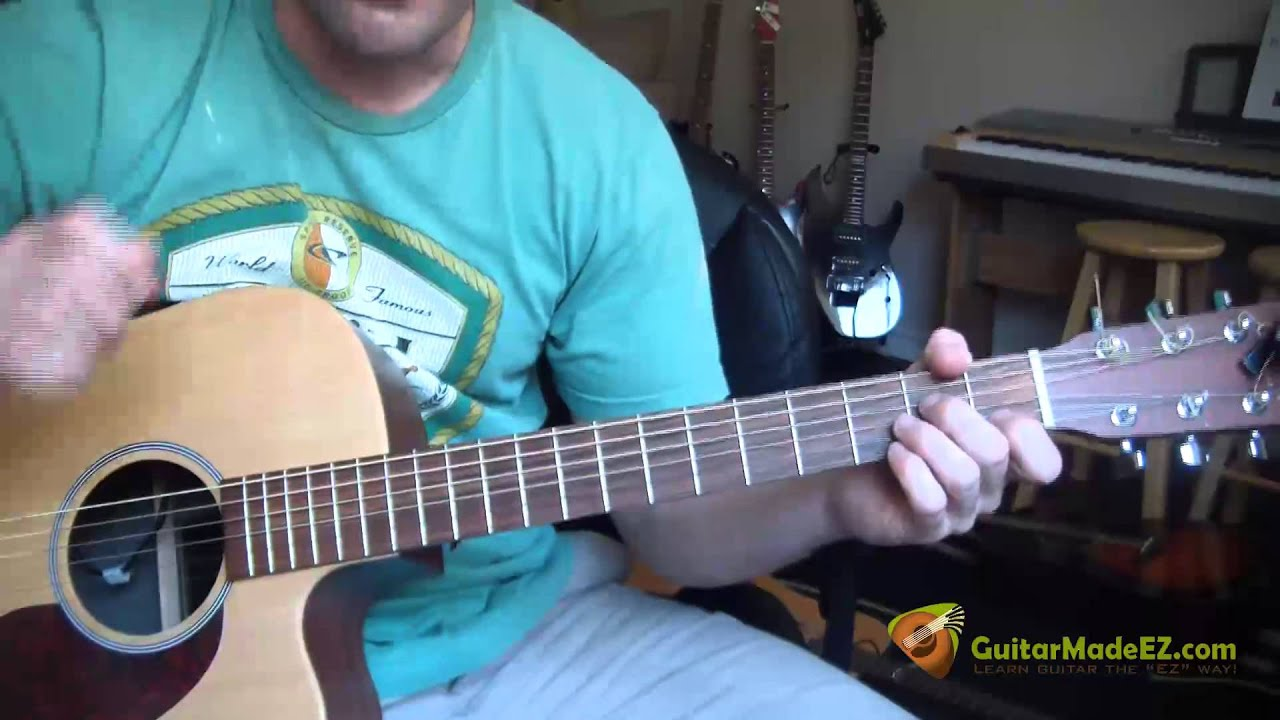 Led Zeppelin Thats The Way Guitar Lesson Chords Strumming
